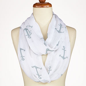 Anchor Infinity Scarf...so very DG