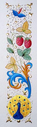 Galerie enluminures frises et bordures