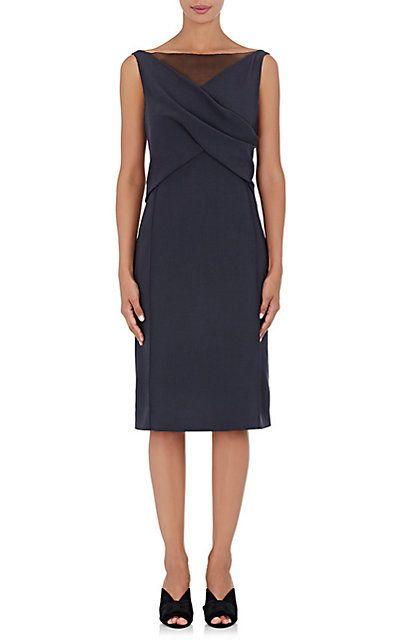We Adore: The Wool Twill Sheath Dress from Nina Ricci at Barneys New York