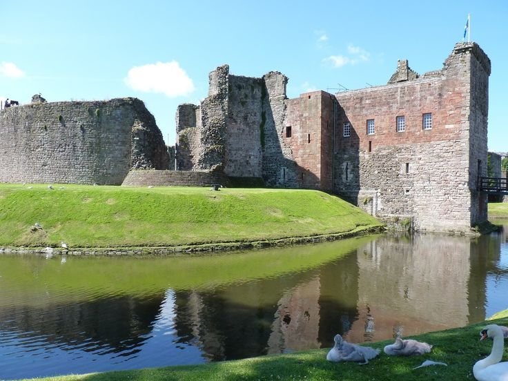 Rothesay Castle on the Isle of Bute in Scotland is only 90 minutes from Glasgow and makes an ideal day trip. Read my recommendations for spending a day on the island http://www.adventuresaroundscotland.com/my-scottish-travel-blog/a-day-on-the-isle-of-bute