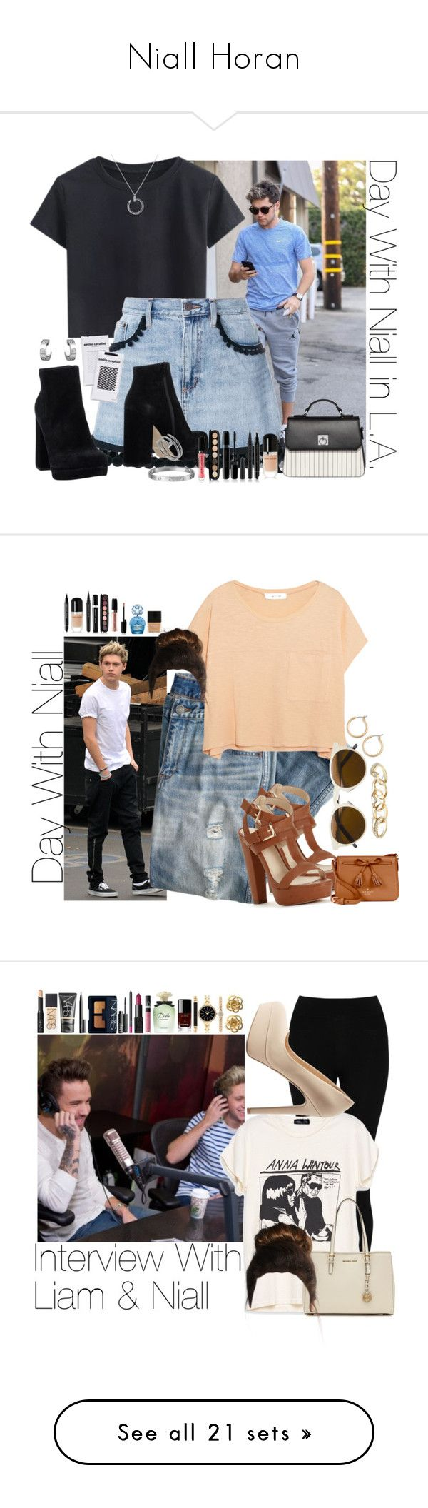 """Niall Horan"" by barbarahs ❤ liked on Polyvore featuring Marc Jacobs, UnLace, Emilio Cavallini, Fiorelli, Cartier, OneDirection, NiallHoran, J.Crew, Elizabeth and James and Butter London"
