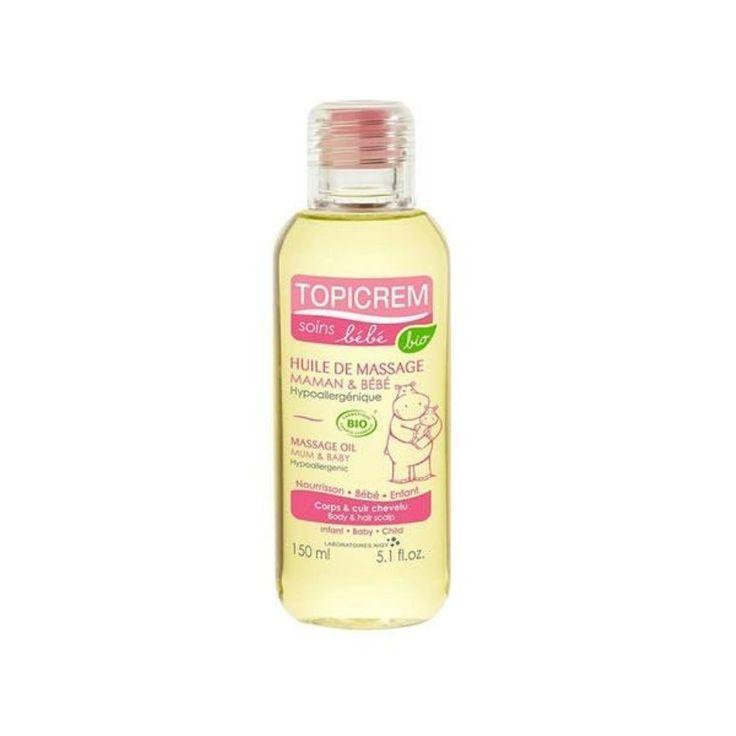 Topicrem Massage Oil Anne&Bebek Masaj Yağı 150 ml | Cilt Ürünleri | Cilt Bakım | Natural Eczane %100 doğal kökenli içeriklerden üretilmiştir. Dermatolojik olarak test edilmiştir.