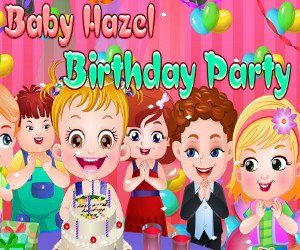 It is Baby Hazel's 3rd birthday! Would you like to join darling Hazel's birthday party?If yes, then go ahead and join Hazel in the celebrations, http://www.babyhazelworld.com/game/baby-hazel-birthday-party