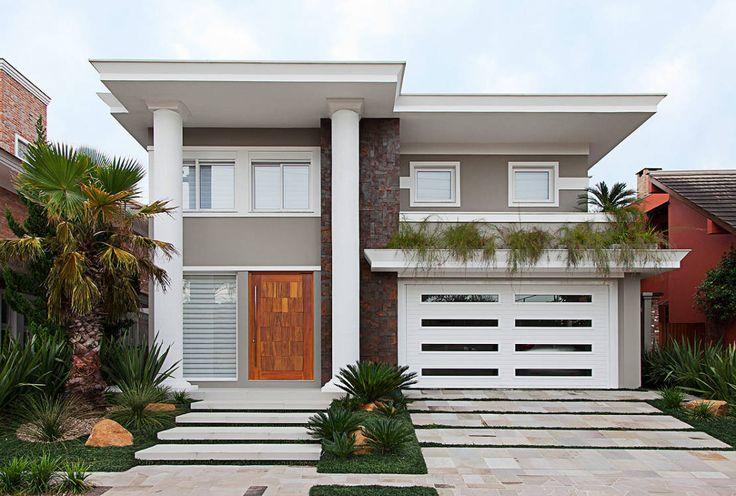 Hoje, mostramos uma casa plena de conforto e elegância que…