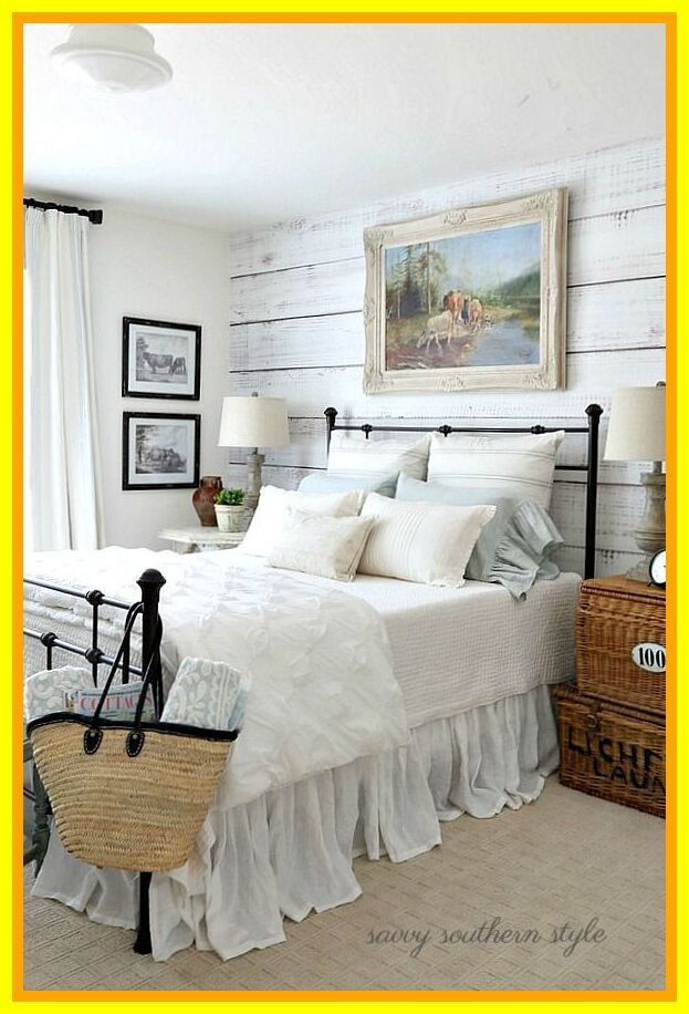 65 Reference Of Bedroom Style French Guest Bedroom Ideas Side Tables Bedroom Farmhouse Style Bedrooms Bedroom Styles