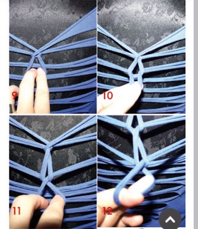 DIY: T-Shirt Into Weave Tank Top!! Like Plz!! ❤️💖❤️💖❤️💖