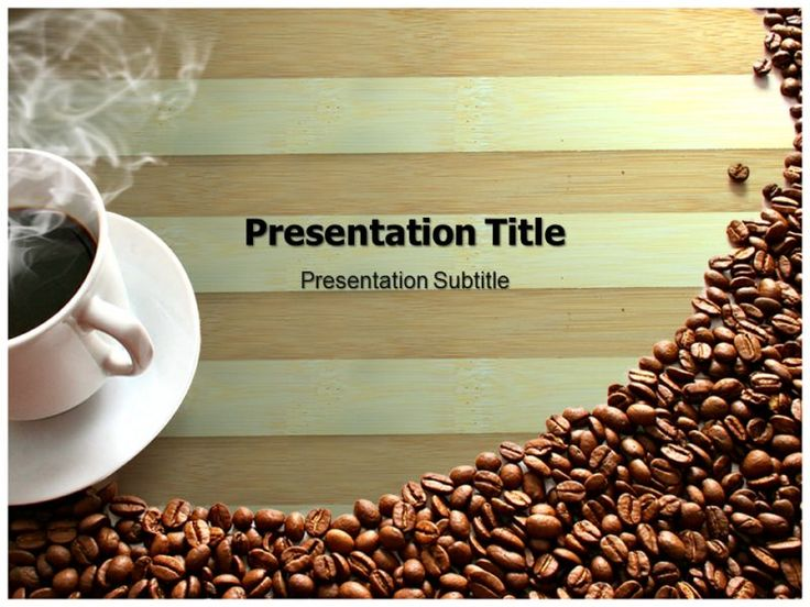 Coffee Makers Powerpoint Templates Powerpoint Presentation On Coffee kIPc3CAy