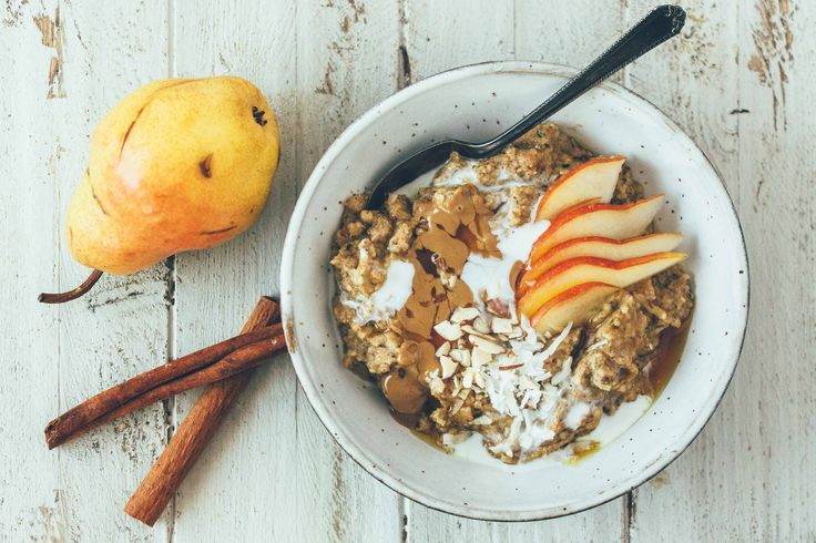 This porridge is a different, yet delicious, take on morning hot cereal.