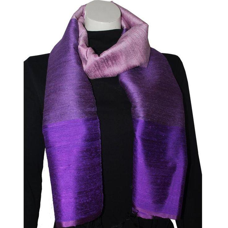 Silk Luxury Scarf violet