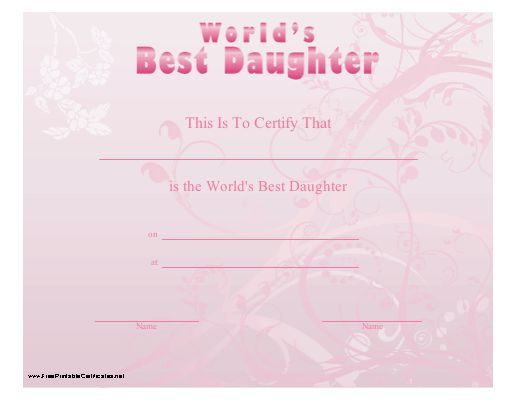 Useful topic Dad and daughter pink world are