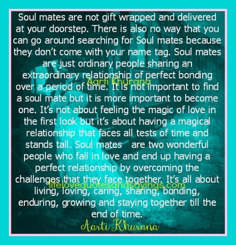 Love Each Other When Two Souls: 17 Best Soulmates Quotes On Pinterest