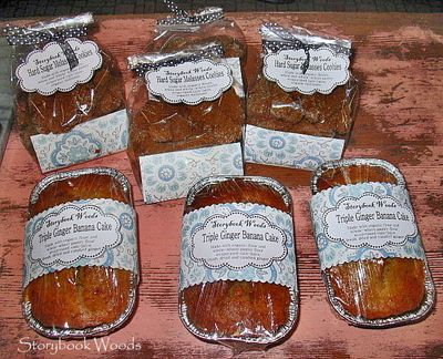 bake+sale+packaging+ideas | thought I would share what I made for my sisters bake sale. I had a ...