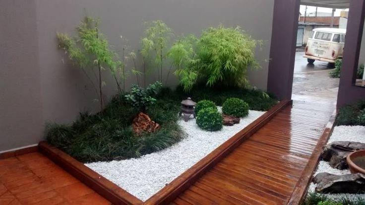 Jardines de estilo moderno de Borges Arquitetura & Paisagismo