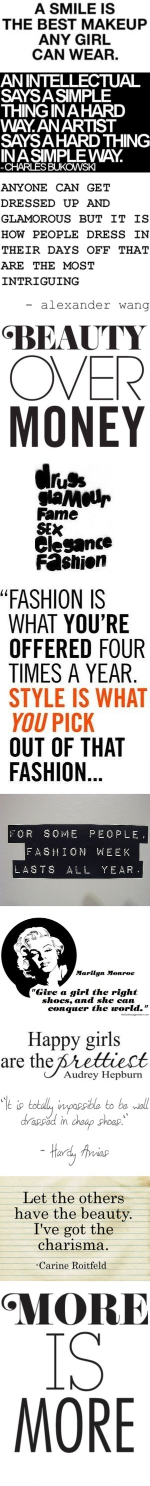"""""""Words, Quotes, Typhography: All About Fashion"""" by queenofdiam0nds ❤ liked on Polyvore"""