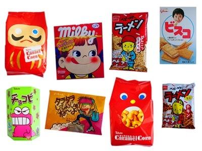 A Jpop/Kpop karaoke theme party needs adorable Japanese snacks.