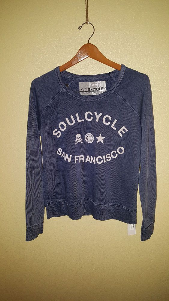 SOULCYCLE Skull San Francisco Pullover Sweatshirt #fashion #clothing