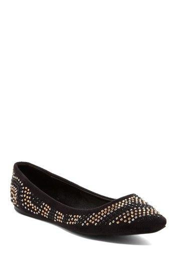 Arla Embellished Ballet Flat by New Season, New Shoes on @HauteLook ... Ballet