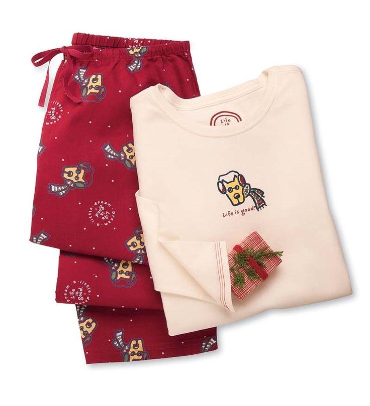 Women's Christmas Pajamas Clearance | Life is good® Women ...