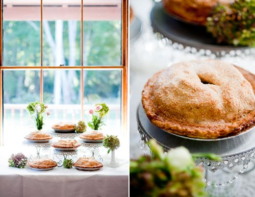 170 best Wedding and Event Pie Tables images on Pinterest