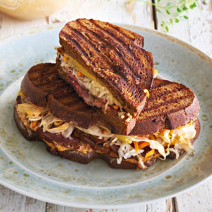 Рубен-сэндвич спастрами