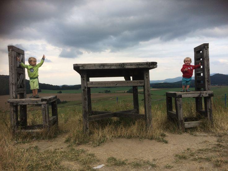 Rychlebské hory s dětmi