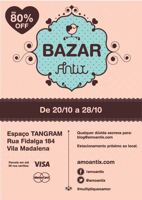 flyer panfleto bazar