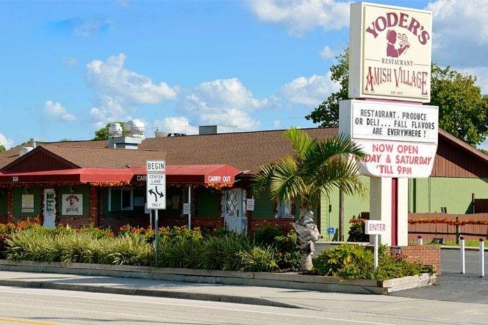 Yoder's has been a local landmark in Sarasota practically since it opened in the 1970s.
