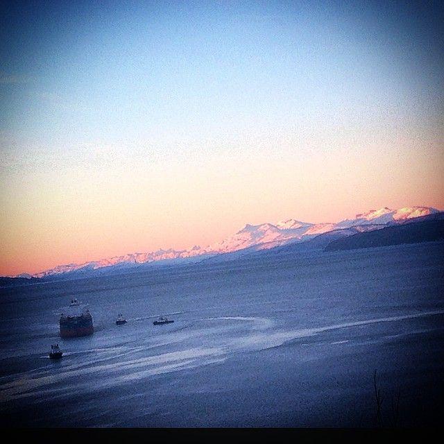 """Sola e hær snart  #Narvik #norge #naturelovers #repost #natur #sol #fjell #norwegian #picsnorway #photowall #reneeskarsfjord"""
