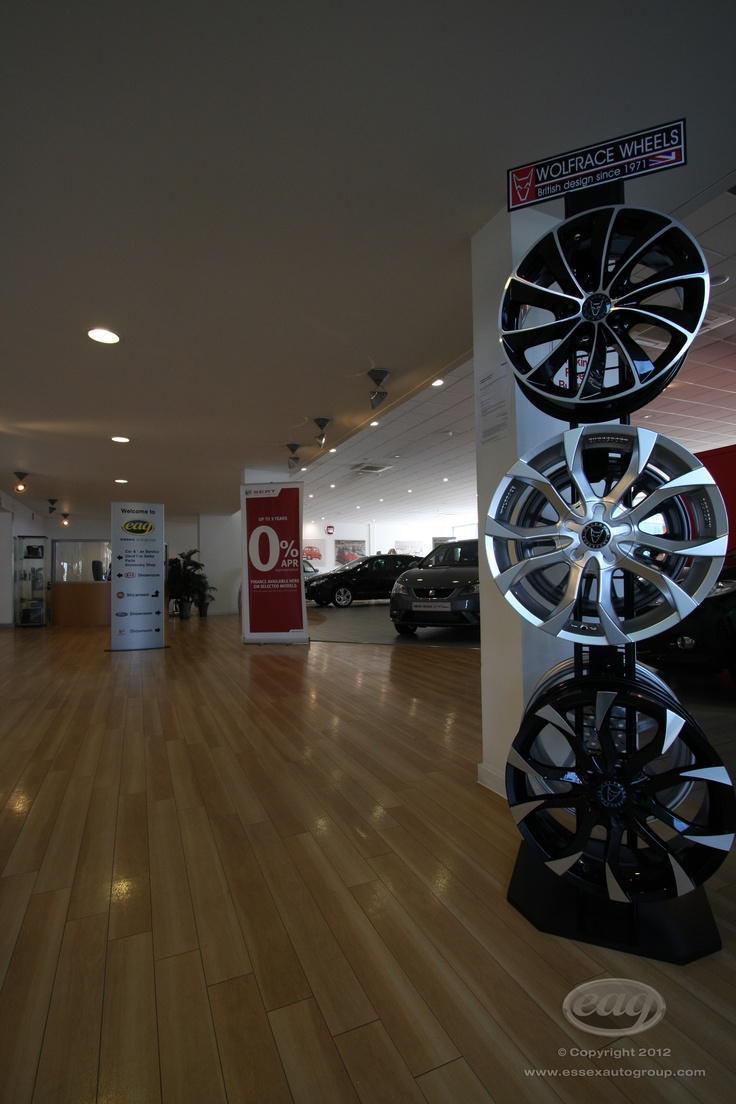 Upgrade your car with new wheels at Essex Auto Group.