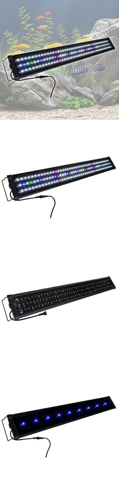 Animals Fish And Aquariums: New 129 Multi-Color Led Aquarium Light Full Spectrum Lamp For 36-43 Fish Tank BUY IT NOW ONLY: $36.9