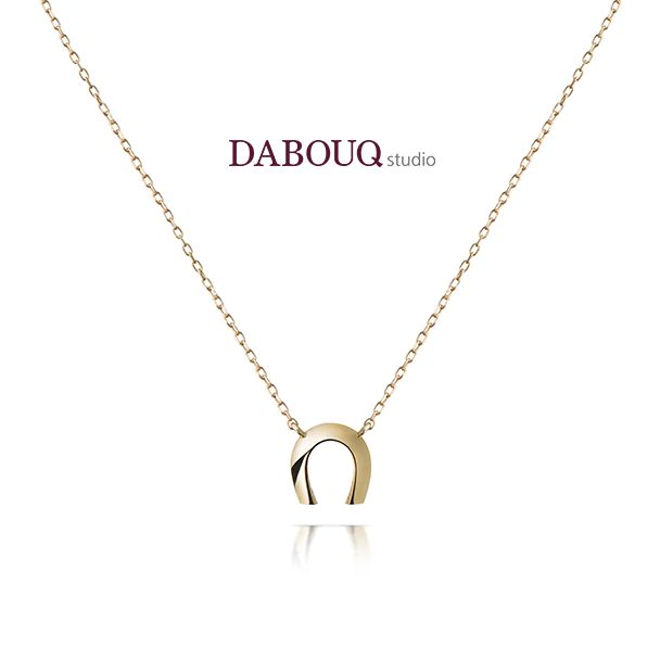 Dabouq Studio Necklace - DN0009 - Simple+ #DABOUQ #Jewelry #쥬얼리 #Necklace #목걸이 #Propose #프로포즈 #Diamond #다이아목걸이 #패션목걸이 #Gold #White_Gold #Pink_Gold #Rose_Gold