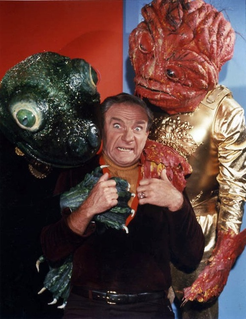 Dr. Smith and friends - from Lost in Space TV show