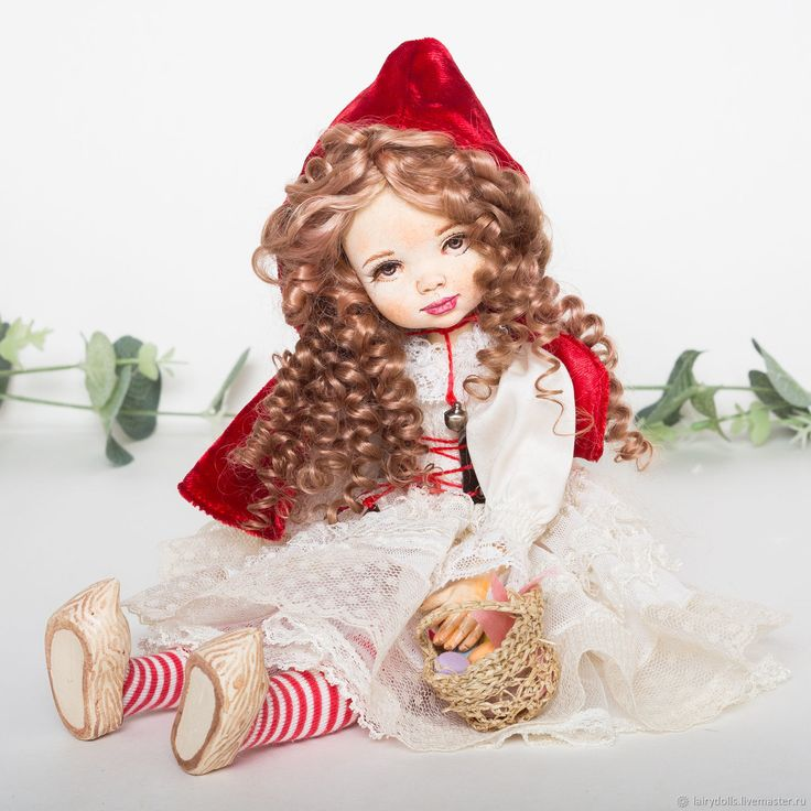 Redhood doll | Купить Красная шапочка - кукла малышка в интернет магазине на Ярмарке Мастеров