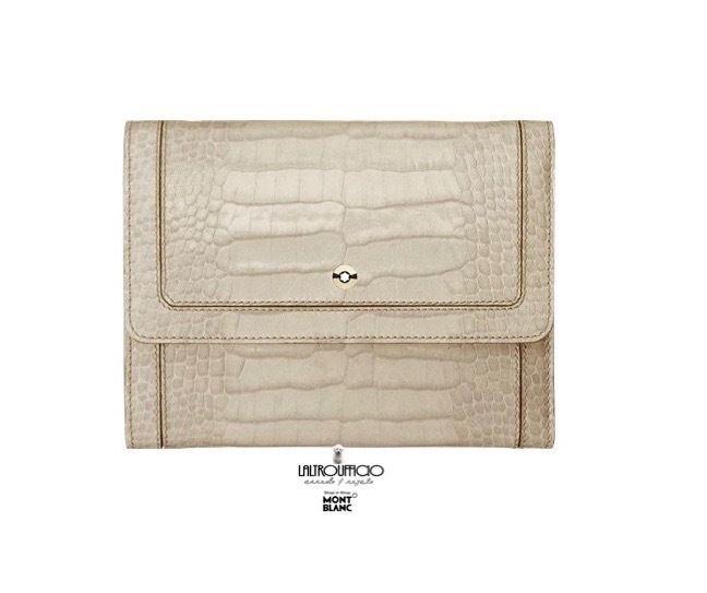 107612 MONTBLANC La Vie de Bohème - SC20% - PORTAFOGLI DONNA  CON PATTA COL.SAND