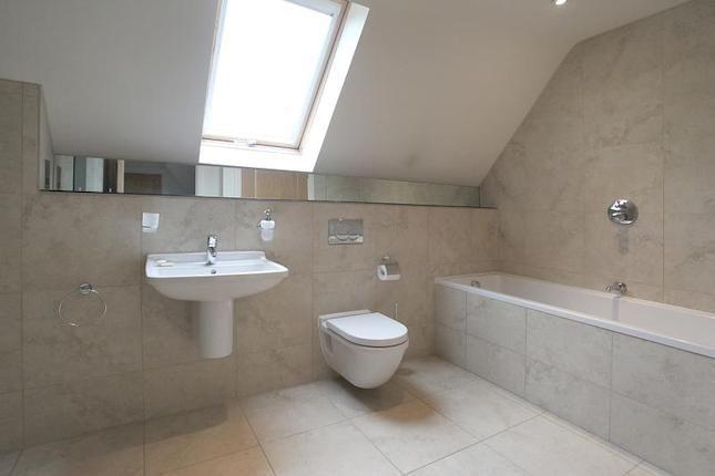 ... sink and toilet under the slope. Bathroom Pinterest Shelves