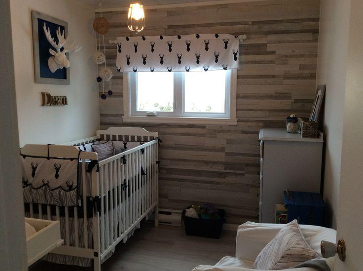 Chambre thématique chalet pour bébé garçon !  #chalet #chevreuil