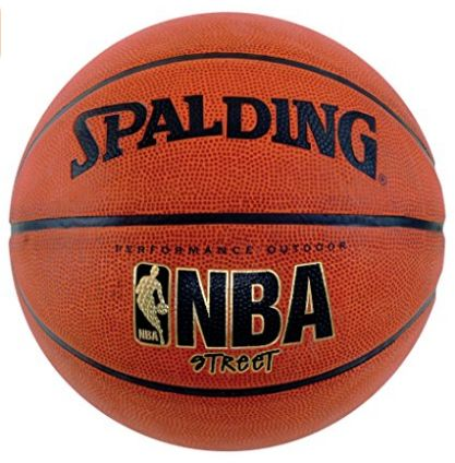 Whether they are the professionals or streets players, the ball which a sensible basketball player prefer is Spalding NBA Street Basketball. A ball which is durable has standard weight and size and is very economical.