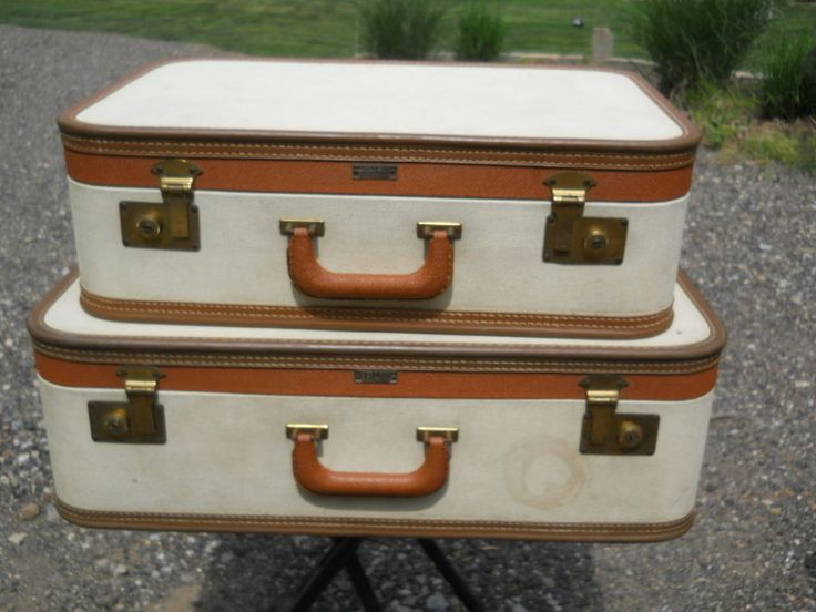 17 Best images about EBAY: Lovely Vintage Luggage on Pinterest ...