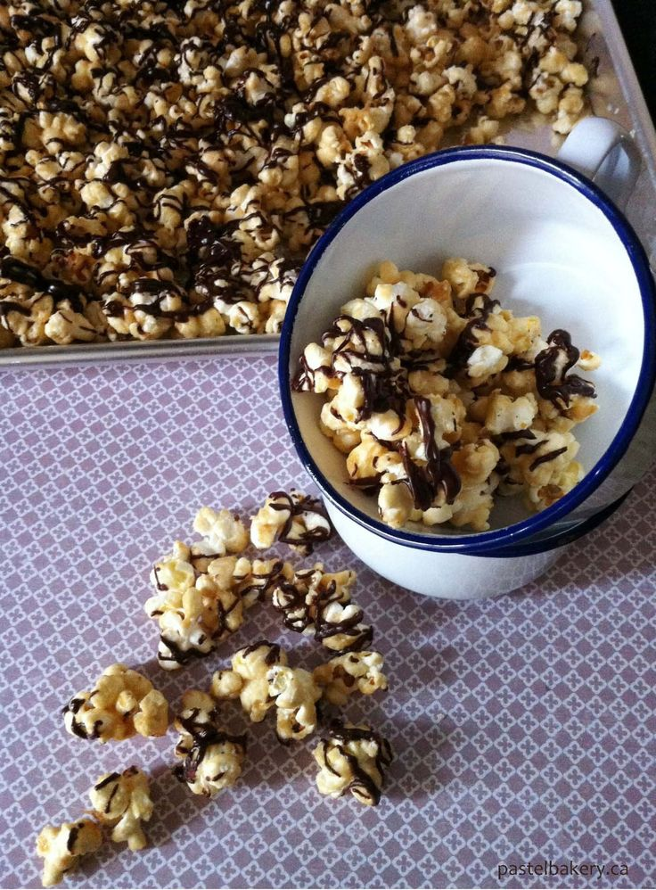 Marshmallow Caramel Popcorn - Gluten Free, Dairy Free | Pastel Bakery