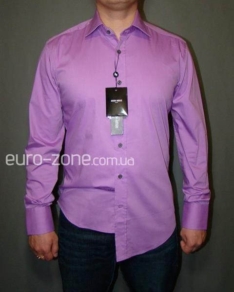 Сиренивая рубашка