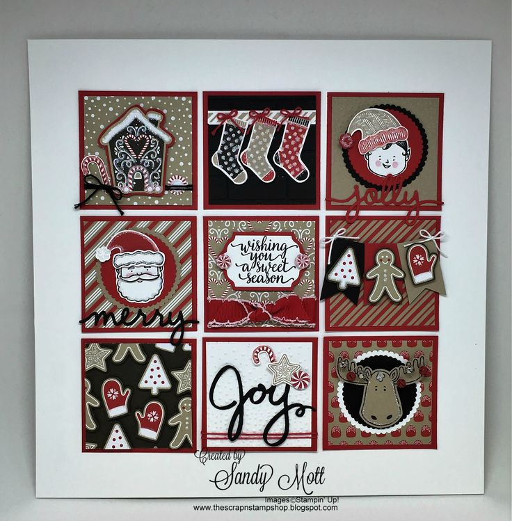 Candy Cane Lane and Jolly Friends Sampler for the Creative Inking Blog Hop - created by Sandy Mott