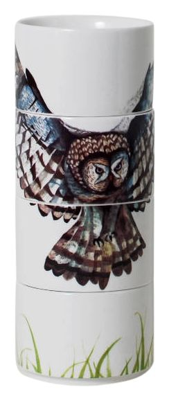 Owl Graphic Stacking Cup