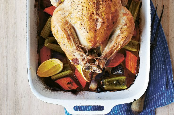 Roast Chicken with Quinoa, Pistachio & Cranberry Stuffing, by Lola Berry – The Holistic Ingredient