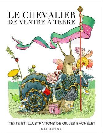 """""""Le chevalier de ventre à terre"""", un album drôle et très bien illustré."""