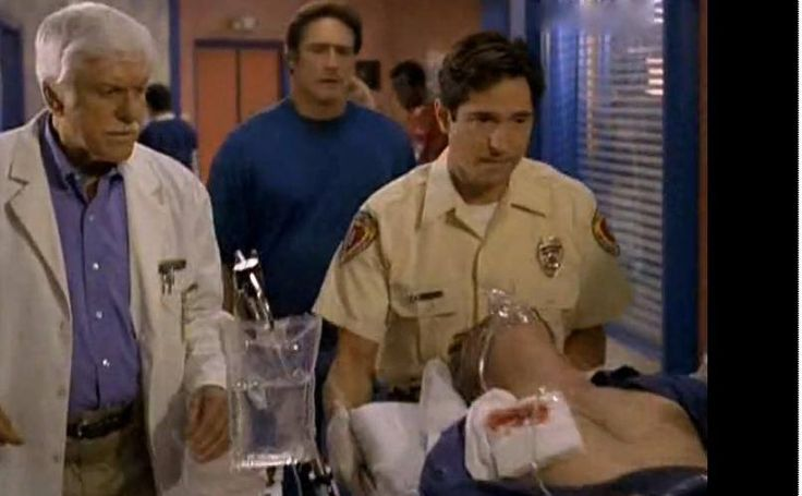 Diagnosis Murder Kevin McNally as Will Sander Left: Dick Van Dyke Middle: Barry Van Dyke Right: Kevin McNally