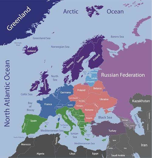 map northern europe scandinavia - Teacheng.us
