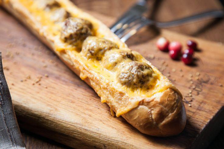Багет с фрикадельками - пошаговый рецепт с фото: Отличный вариант быстрого и вкусного обеда. - Леди Mail.Ru