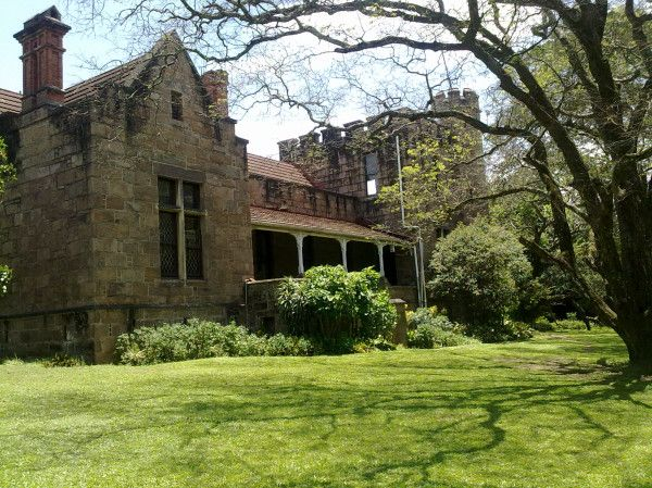 Coedmore Castle is situated in the Stainbank Nature Reserve, Durban