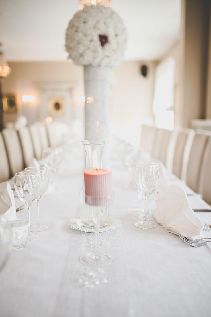 HÄÄT PORVOON JUHLAHELMESSÄ - koristeena Puttipajan kynttilät