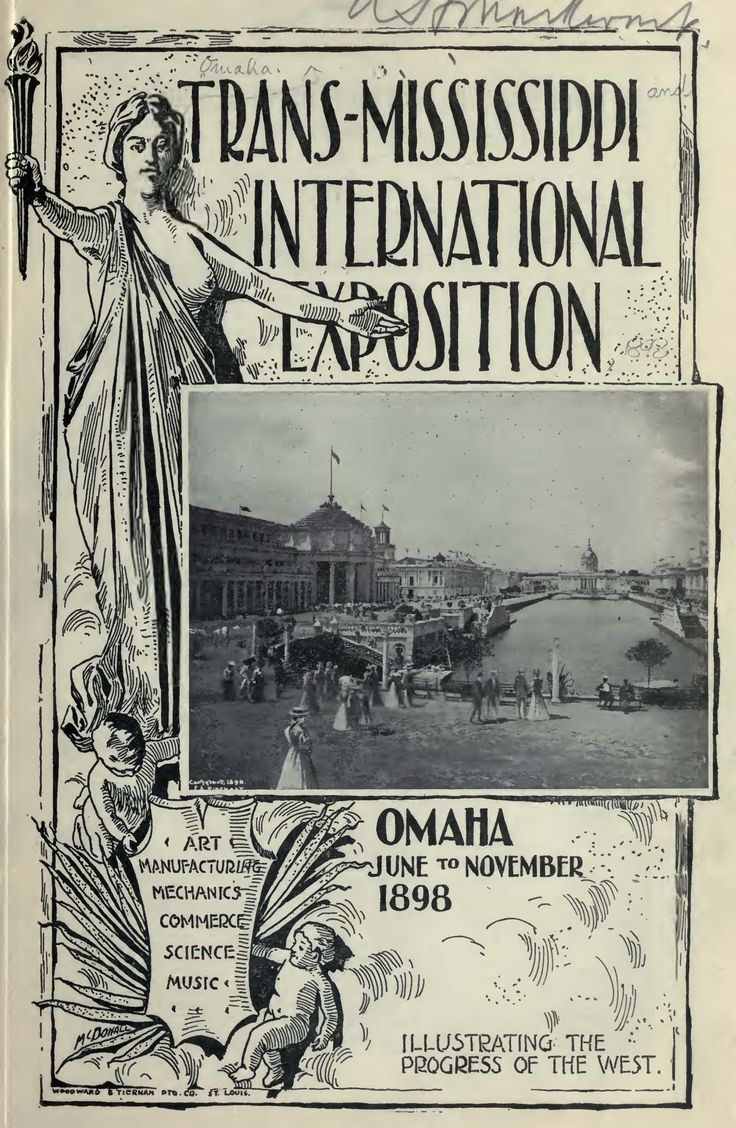 Publication about the 1898 Trans-Mississippi Exposition held in Omaha- maybe a guide of the exhibits.